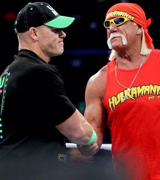 一组WWE巨星约翰塞纳罕见的照片 拳击台外的真实生活