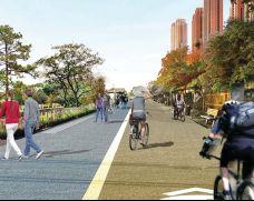 步行、自行车专用道
