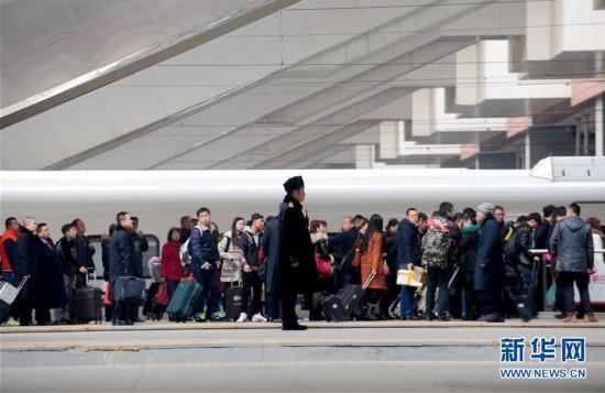 #(社會)(1)2016年中國春運旅客發送量超29.1億人次