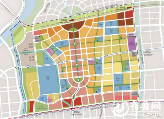 新东站启动区规划