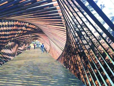 艺术家在浙江深山办竹建筑双年展重塑乡土魅力