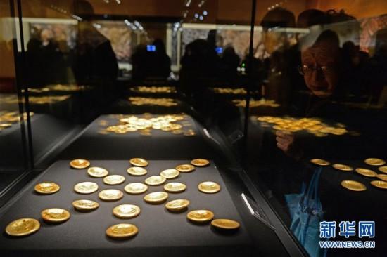 (文化)(8)汉代海昏侯墓441组件文物亮相首都博物馆