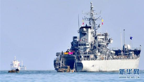 (国际)(1)韩美启动大规模联合军演