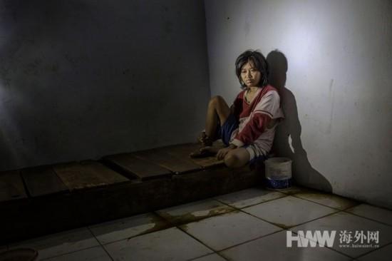 印尼精神病患者的人間地獄