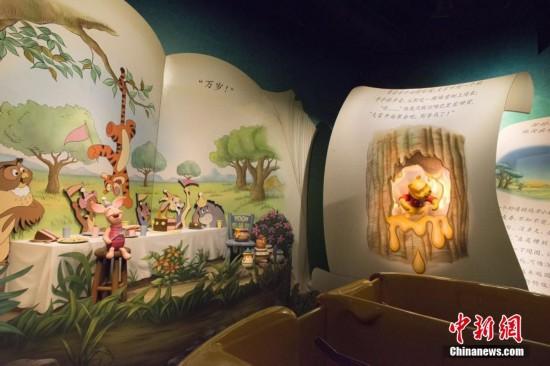 上海迪士尼乐园开幕倒计时 园内实景首度发布