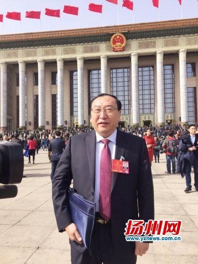 王静成.邹平摄-全国人大代表 扬州医改建议写入政府工作报告