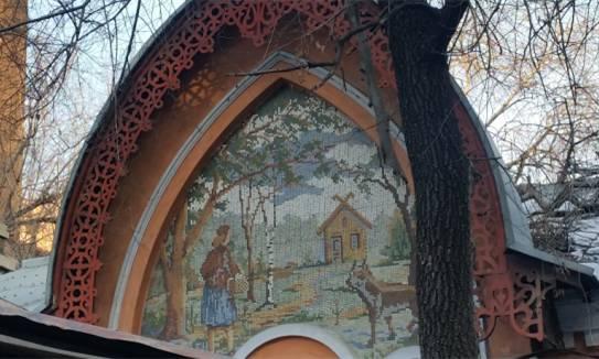 教堂上的壁画