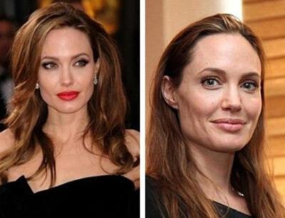 網紅女友卸妝后老8歲 看看當紅女明星卸妝前后驚人對比照!圖片