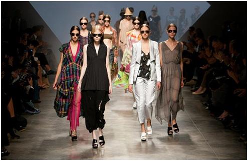 巴黎时装周透明装