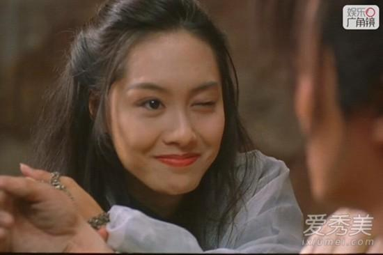 """《大话西游》,""""紫霞仙子""""的一颦一笑一眨眼,不禁也让人感叹""""朱茵之后图片"""