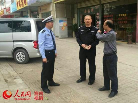 美兰交警回应本网:全力整治车辆违法乱停