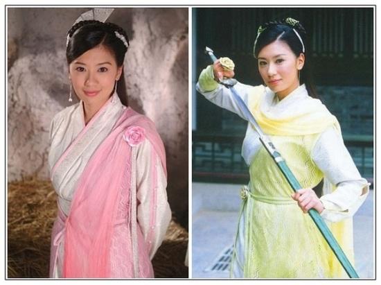 金庸武侠三十大美女惊艳排行榜