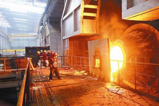广西玉林中金金属字体镍合金及深加工科技二期炼钢车间投产.macui项目v字体图片