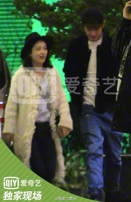 林更新王柳雯恋情坐实同回酒店图片