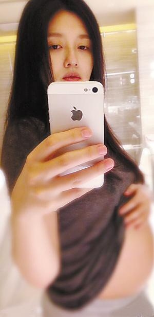 张梓琳挺大肚近照曝光 明星大肚子孕妇照片盘点