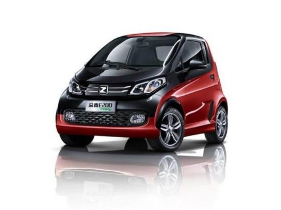 众泰E200电动车-自主新能源车盘点 北汽电动车吸睛高清图片