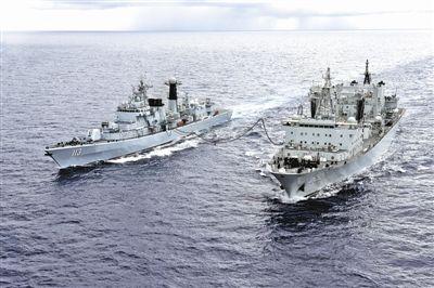 中国新一代大型远洋综合补给舰,主要担负战时加入海上机动编队对