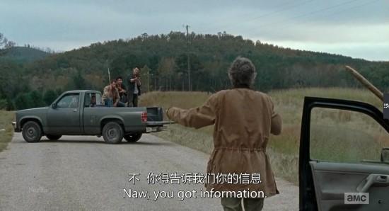 卡车 《行尸走肉》/最后,在她的旅行途中,遭遇了迎面而来的一辆卡车,卡车上载有...