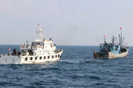 9艘违规渔船被查 擅自改变作业类型等