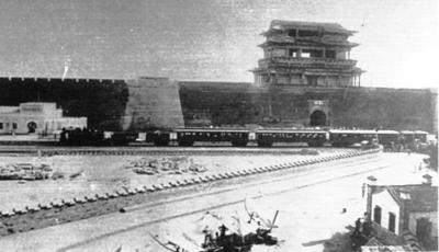 昔日北京城的轨道交通卢沟桥是重