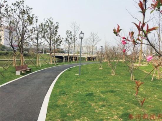 泰州将建54个游园绿地启动三个大型公园建设