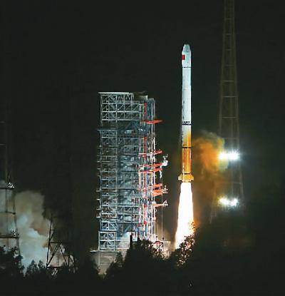 长征三号甲运载火箭成功发射第22颗北斗导航卫星