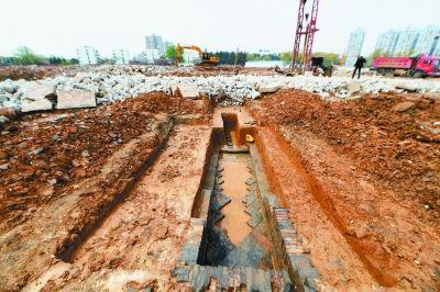 南京幕府南路一工地上发现南朝古墓