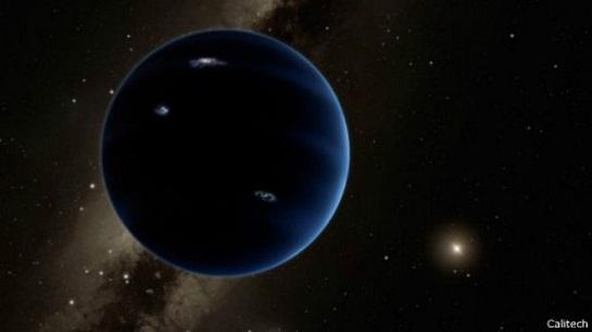 """太阳系或存在第九颗行星?推测称其为""""冰冻星球"""""""