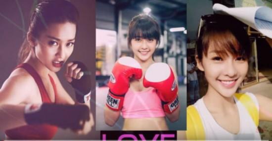 越南19岁女孩不仅是选美冠军 还是个拳击手