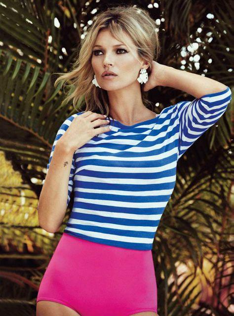 """法国女人的衣橱都需要一件""""海魂衫"""""""