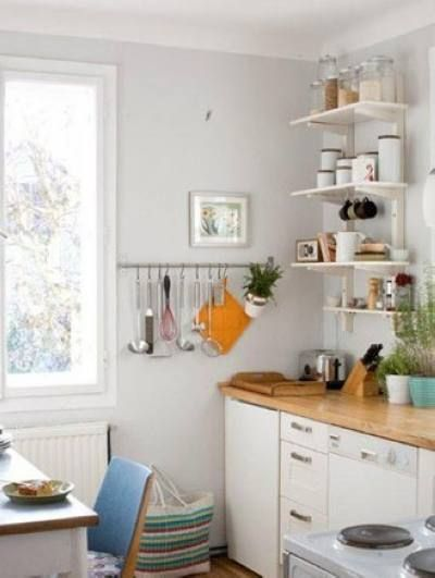 开放式厨房装修效果图 善用小空间高清图片