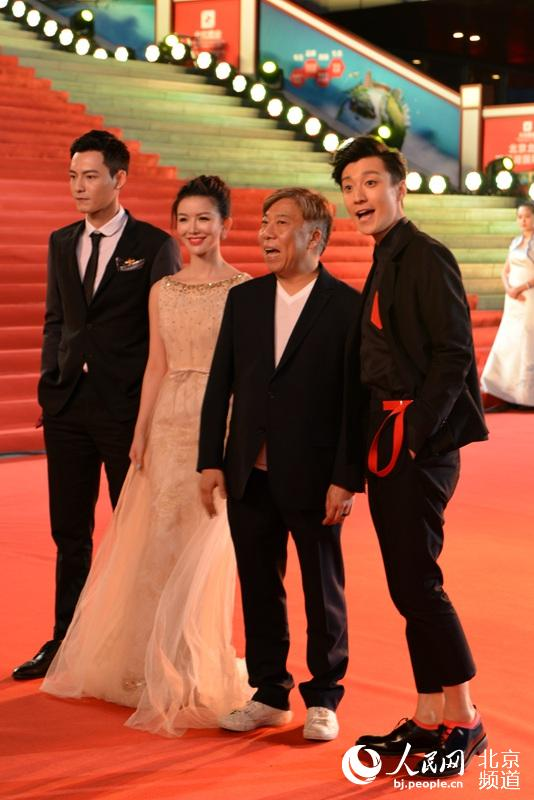 表情节开幕式红毯:钟汉良李敏镐北影出炉粉表情包动态黑白图片
