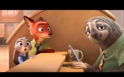 整部电影中的剧情紧凑不拖沓;而《疯狂动物城》中的兔子朱迪,只用了