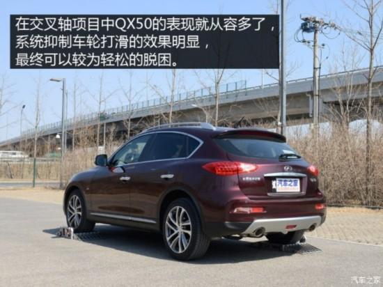 东风英菲尼迪 英菲尼迪QX50 2015款 2.5L 尊享版