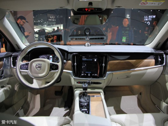沃尔沃北京车展阵容 S90将公布预售价高清图片