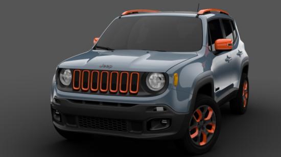 Jeep在北美国际车展上亮相两款经莫帕尔改装的自由侠-——城市版-底高清图片