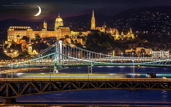 间捕捉布达佩斯最美的城市风光,所取之景令人震撼. 这位摄影爱好图片