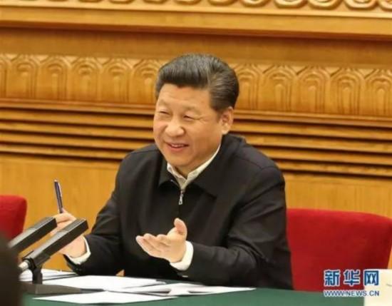 图为:2016年4月19日,中共中央总书记、国家主席、中央军委席、中央网络安全和信息化领导小组组长习近平在北京主持召开网络安全和信息化工作座谈会并发表重要讲话。