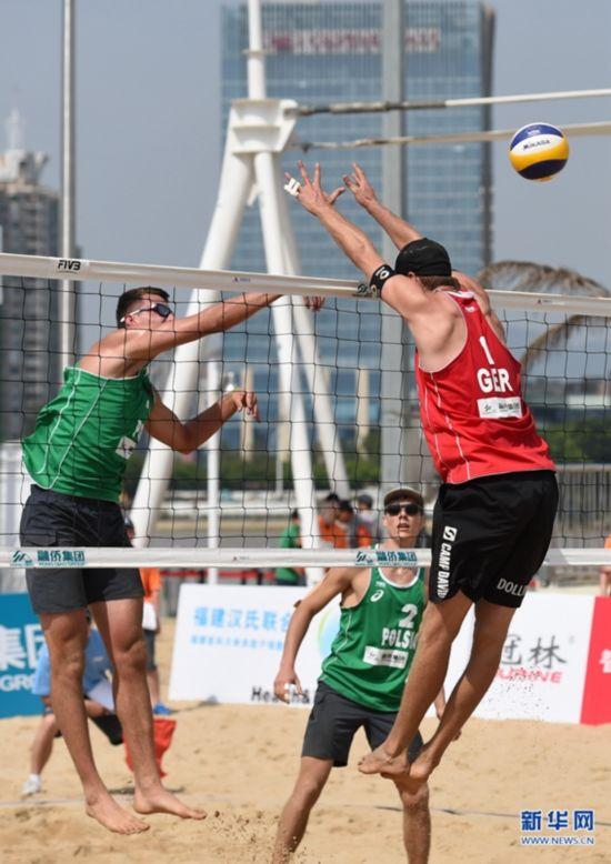 2016世界沙滩排球巡回赛福州公开赛举行(图)