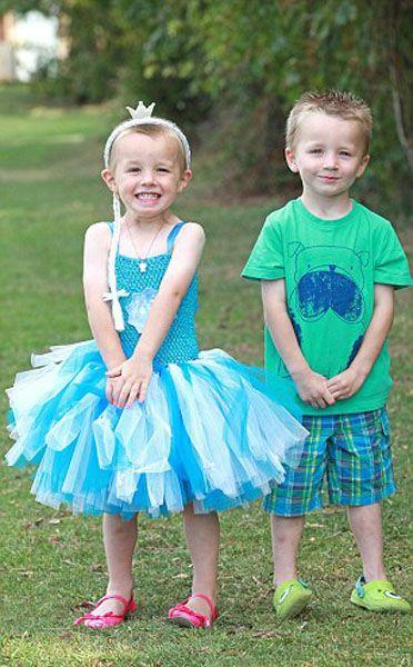英4岁男童喜欢女孩装扮 母亲大力支持(组图)