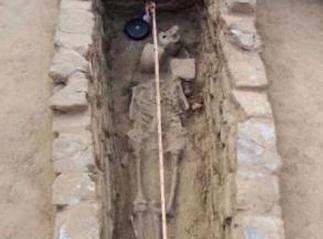河北霸州发现古墓