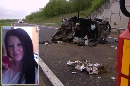 父亲开车时疑似睡着致车祸 3个孩子直接甩出(图)