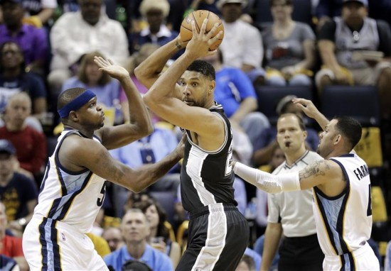 NBA季后赛:马刺晋级西部半决赛