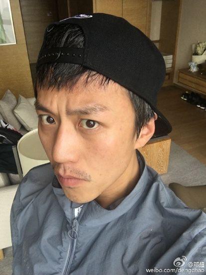 """邓超晒15天暴瘦10斤脸型变""""锥子""""(图)"""