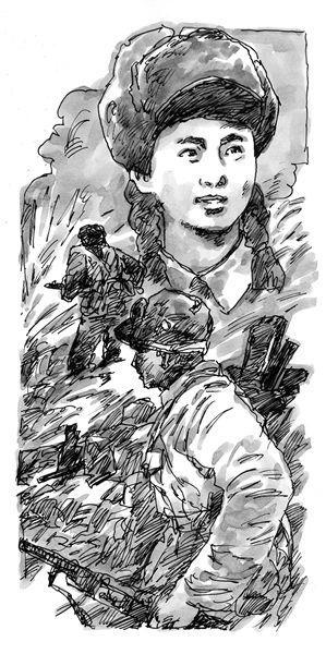 文工团遭敌机轰炸3名战友牺牲依然坚持演出