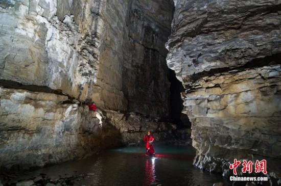 贵州双河溶洞究竟有多深?竟创下两项世界之最【高清组图】