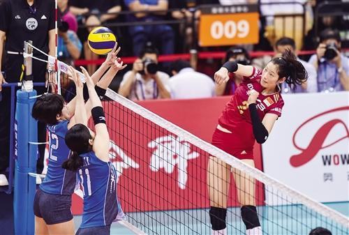 中国女排三连胜日本女排 奥运征程值得期待(图)