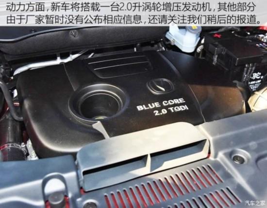 中国品牌将上市SUV汇总高清图片
