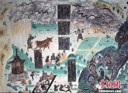 敦煌壁畫中的古代勞動者:三教九流各顯神通(圖)