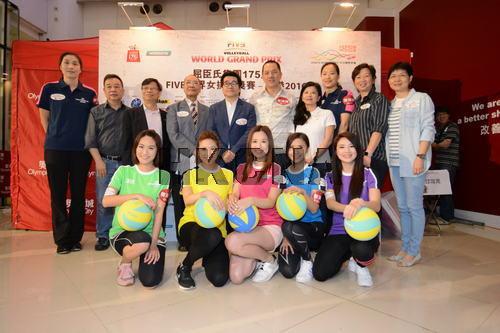 世界女排大奖赛香港站将在6月举行(图)